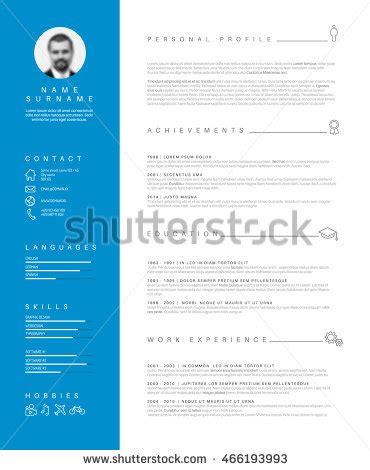 Definition of curriculum vitae resume